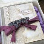 Wedding Guest Book Keepsake Box in ..